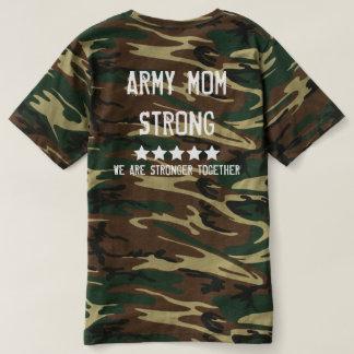 Banda de madres - camiseta fuerte de Camo de la