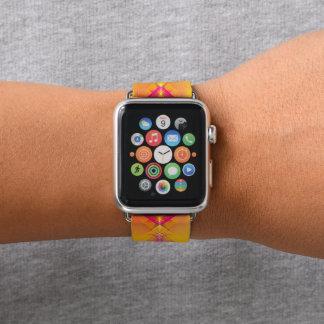 Banda de reloj abstracta impresionante de Apple