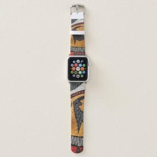 Banda de reloj africana de la tela para el reloj