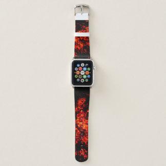 Banda de reloj ardiente única de Apple de las