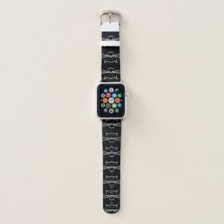Banda de reloj blanca de Apple del diseño del
