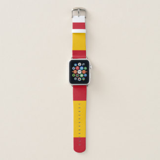 Banda de reloj de Apple de la bandera de España