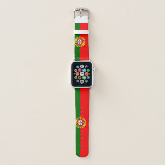 Banda de reloj de Apple de la bandera de Portugal