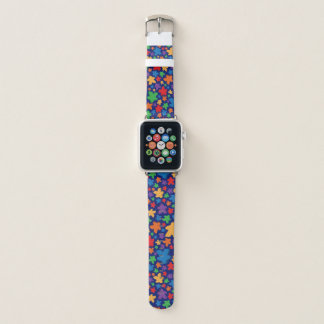 Banda de reloj de Apple de la impresión de Meeple
