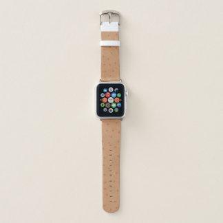 Banda de reloj de Apple de la mirada de la piel de