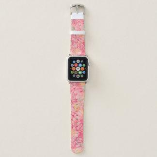 Banda de reloj de Apple de la rosaleda de las