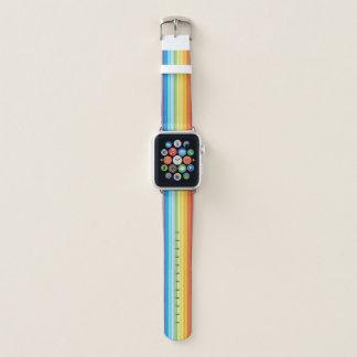 Banda de reloj de Apple de las rayas, 38m m
