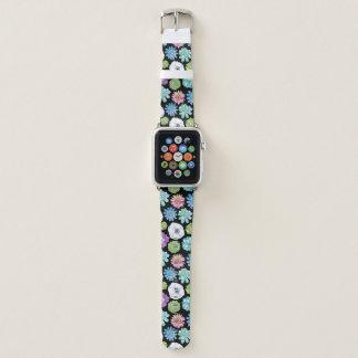 Banda de reloj de Apple de los Succulents y de las