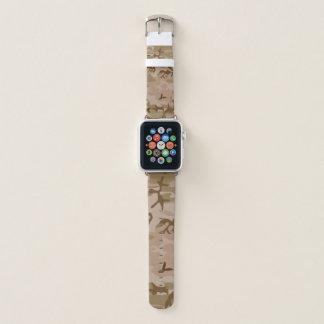 Banda de reloj de Apple del camuflaje, 38m m