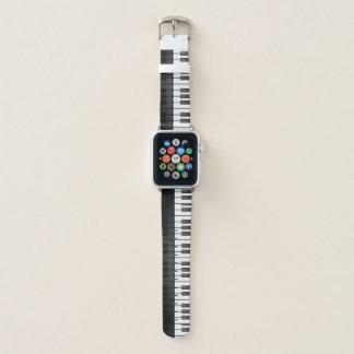 Banda de reloj de Apple del diseño del teclado de