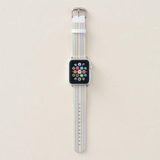 Banda de reloj de Apple del modelo de la raya del