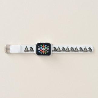Banda de reloj de Apple del modelo de los pájaros