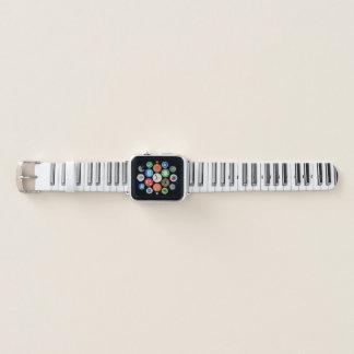 Banda de reloj de Apple del teclado del piano de