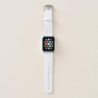 Banda de reloj de cuero de Apple, 38m m