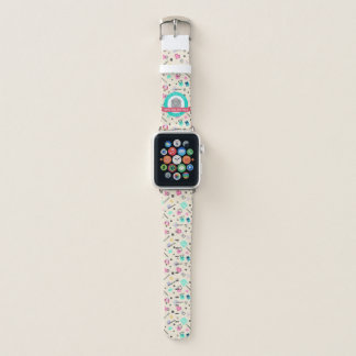 Banda de reloj de la manzana de los amigos por