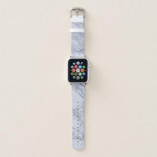 Banda de reloj de mármol de Apple del modelo