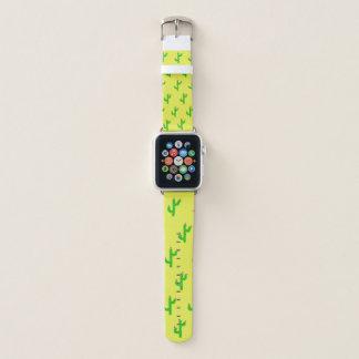 Banda de reloj feliz de Apple de los cactus