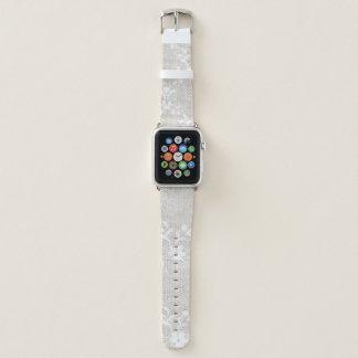Banda de reloj floral de Apple del cordón del