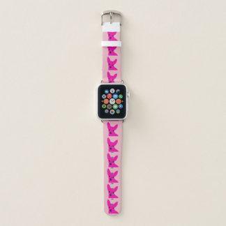 Banda de reloj rosada de Apple de la chihuahua