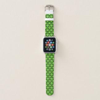 Banda de reloj verde linda de Apple de los