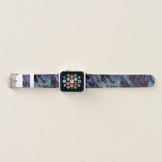 Banda de reloj veteada colorida de Apple de la