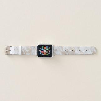 Banda de reloj veteada oro de Apple de la mirada