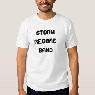 Banda del reggae de la TORMENTA Camiseta