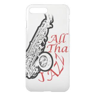 Banda Iphone del músico de jazz del saxofón Funda Para iPhone 7 Plus