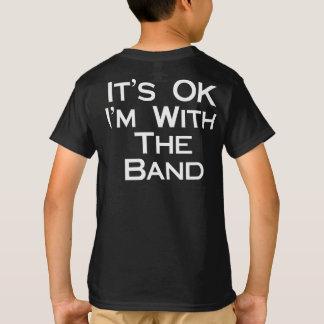 Banda Trojan del orgullo Camiseta