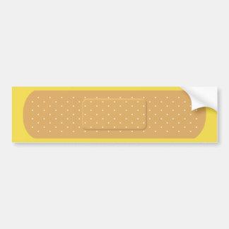 Bandaid para la pegatina para el parachoques