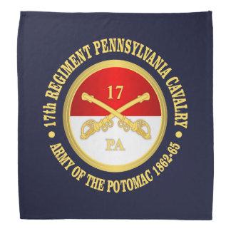 Bandana 17mo Caballería de Pennsylvania