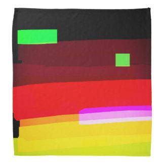 Bandana Arte abstracto del arco iris