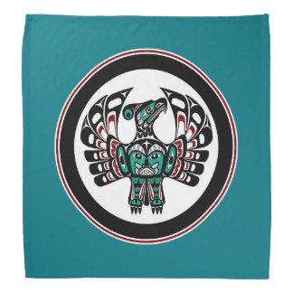Bandana Arte del noroeste Thunderbird del Haida de la