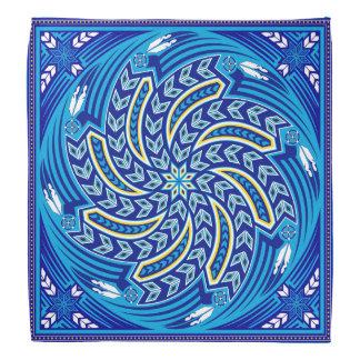 Bandana Azul de alcohol del viento