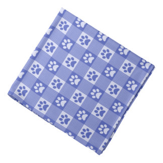 Bandana Azul lindo del bígaro del modelo de la guinga de