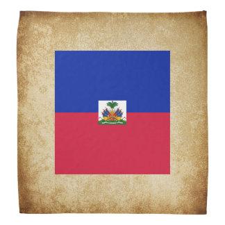 Bandana Bandera de oro de Haití