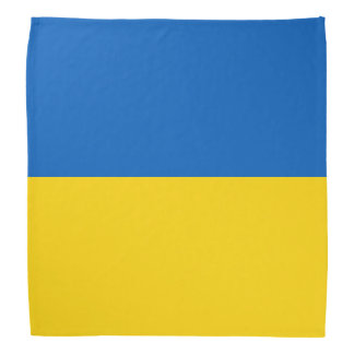 Bandana Bandera de Ucrania