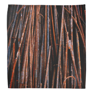 Bandana Barras oxidadas frescas muy únicas