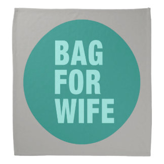 Bandana Bolso para la esposa
