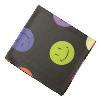 Bandana Caras sonrientes - multicoloras