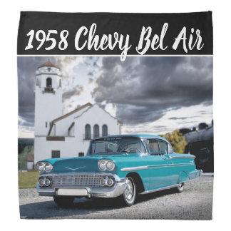 Bandana Depósito 1958 de tren clásico de coche del Bel Air