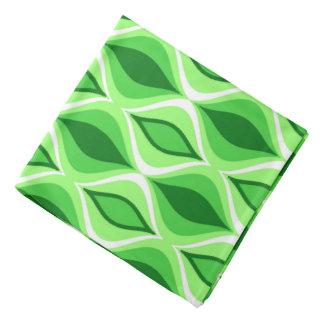 Bandana Diamantes, esmeralda y verde lima modernos de los