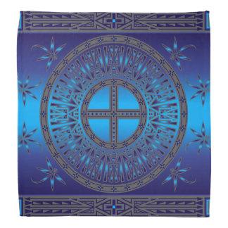 Bandana El azul de los antepasados (libélula)