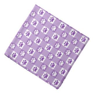Bandana Guinga púrpura con las patas