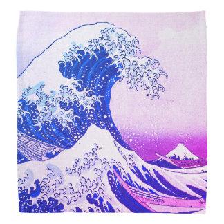 Bandana La gran onda de Kanagawa