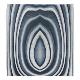Bandana La tierra entonó el modelo abstracto azul