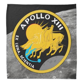 Bandana Logotipo del remiendo de la misión de la NASA de