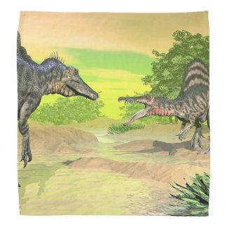 Bandana Lucha de los dinosaurios de Spinosaurus - 3D