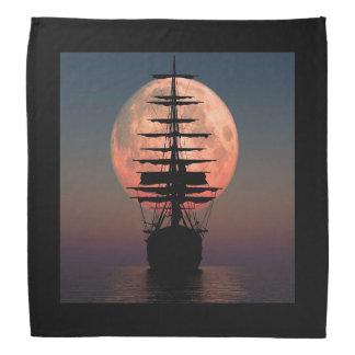 Bandana Luna del pirata de la navegación