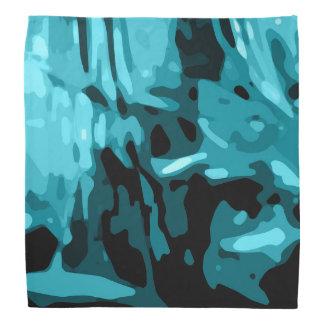 Bandana Modelo azul de moda de Camo de la aguamarina del